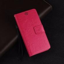 Buy Embossed Designer Case LG K4 K120E K130E Cover Luxury Dandelion Stylish lovers Leather Flip LG K4 K120E K130E Case Stand for $3.88 in AliExpress store