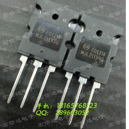 Free shipping MJL21193 MJL21194 MJ21193G MJ21194G stereo  amplifier tube to tube Original Product