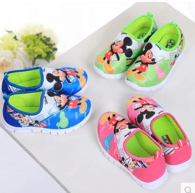 childrens shoes girls female sport baby toddlers fashion cartoon shoes chaussure enfants fille kids roshe runs 258a(China (Mainland))