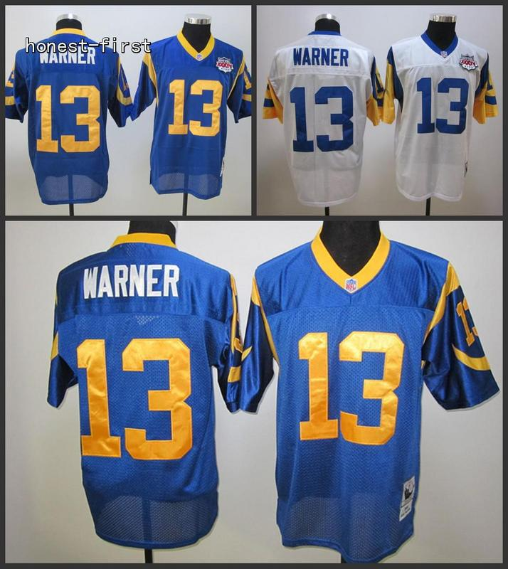 100% Stitiched,Los Angel Rams,Jack Youngblood,Eric Dickerson,Marshall Faulk,Kurt Warner,Throwback for men(China (Mainland))