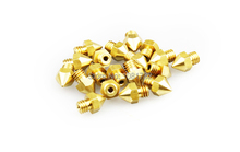 High Quality 10PCS/Lot Reprap Prusa i3 3D Printer 0.2mm Extruder Brass Nozzle Print Head for MK8 Extruder 1.75mm ABS PLA Printer