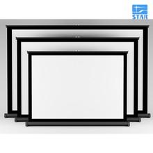 50 дюймов для настенного монтажа full hd экран мультитач-стол экран проектор для развлечения на свежем воздухе встреч(China (Mainland))