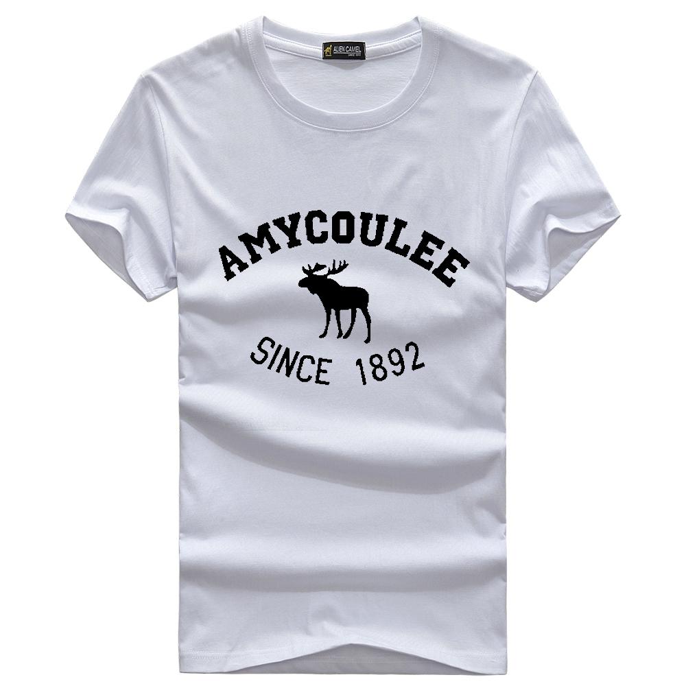 Free Shipping 2015 New Mens Fashion T Shirt Men's Short Sleeve Cotton Men T-shirt 6 colors tshirt Clothes(China (Mainland))