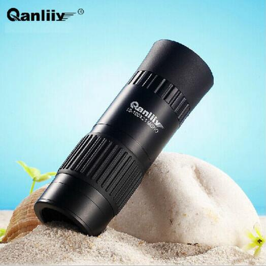 Top Quality10-100X All-optical Zoom HD Monocular Mini Telescope WM66 For Travel Hot Selling Free Shipping(China (Mainland))