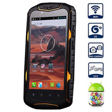 Original Jeep J6 MTK6582 Quad Core 1.3GHz Android4.2 Smartphone 5inch Screen GPS 3G WiFi Waterproof Dustproof Z6 CellPhone(China (Mainland))