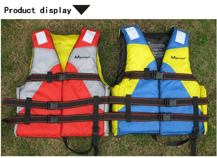 new Manner lifejackets / buoyancy clothing / inflatable boat / rubber kayak / specially equipped(China (Mainland))