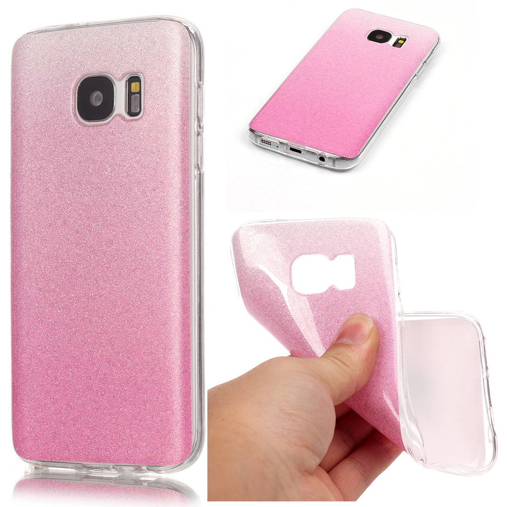 Bling Bling Case For Coque Samsung S7 Edge Case Galaxy S7 Edge Silicone Cover For Samsung Galaxy S7 Edge Case Coque Funda Etui(China (Mainland))