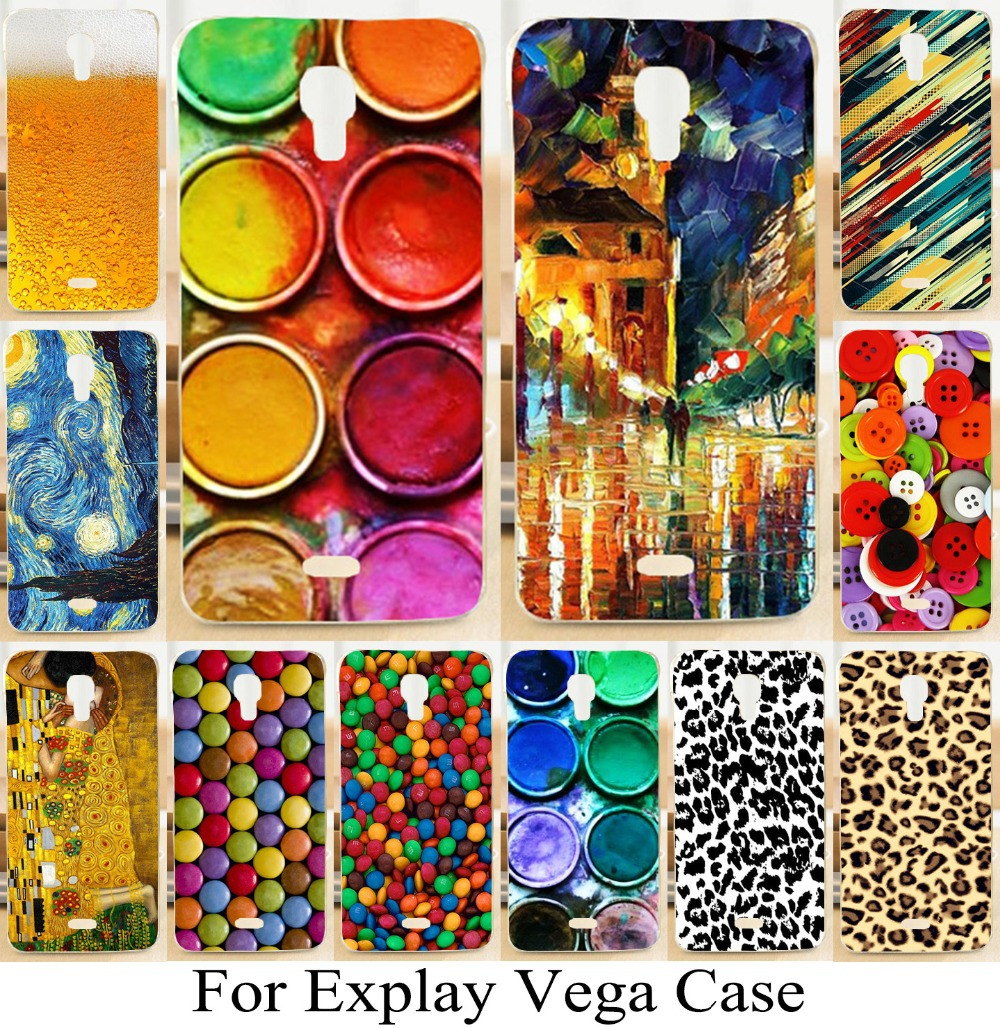 2015 Rushed For Explay Vega Beautiful New Style Fashion Skin Shell Hard Back Cover Case Freeshipping Arrival Diy Painting Phone(China (Mainland))