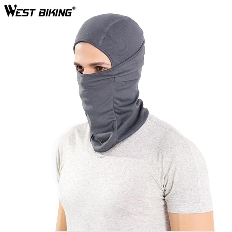 WEST BIKING Cycling Mask Super Elastic Quick Drying Moisture Permeability Cycling Mask Headgear Sun Protection Bicycle Cap(China (Mainland))