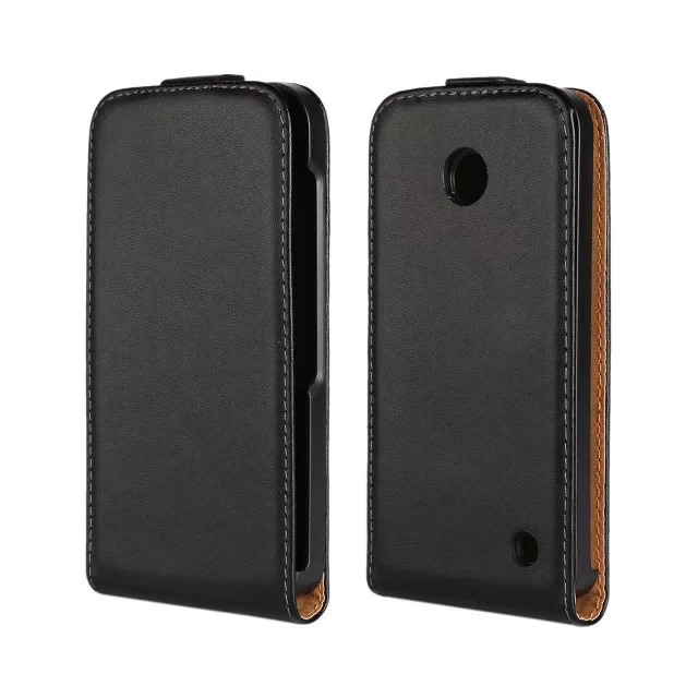 Luxury Genuine Leather Case Flip Cover Nokia Lumia 630 635 N630 N635 s PY - Koko Technology Co.,Ltd. store