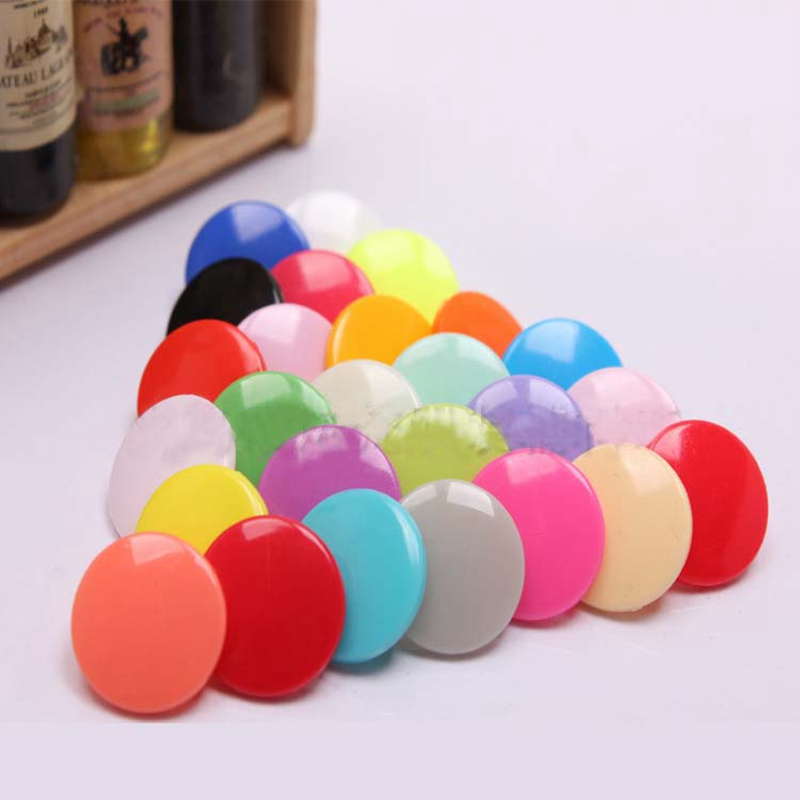 12.4mm Spot supply 50pcs resin plastic buckle four color snap button buttons baby four wholesale(China (Mainland))