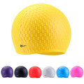 Silicon Swimming cap Unisex Adult Waterproof Swimming hat swim Cover Ear Protect Flexible particle Swimming Caps