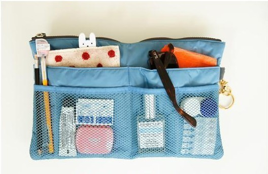 Wash bag Fashion portable handle bag for storage,cosmetic make-up handbag organizer bag multi functional