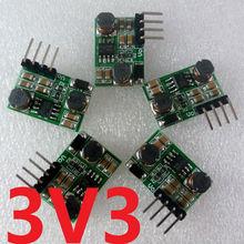 5pcs 2 in 1 DC DC Step-Down & Step-Up Converter 0.8V-6V to 3.3V Power for Wifi Bluetooth ESP8266 HC-05 CC1101 LED Module(China (Mainland))