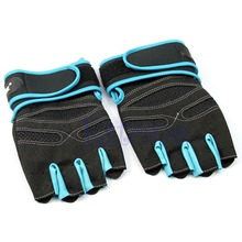 F85 Free Shipping Weight Lifting Gym Gloves Training Fitness Workout Wrist Wrap Exercise Glove New