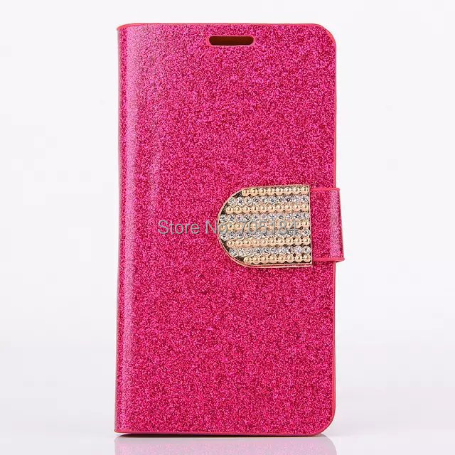 Bling Glitter shiny Chrome skin Flip wallet leather case cover stand Credit card holder cases for Samsung Galaxy S5 Mini 30PCS