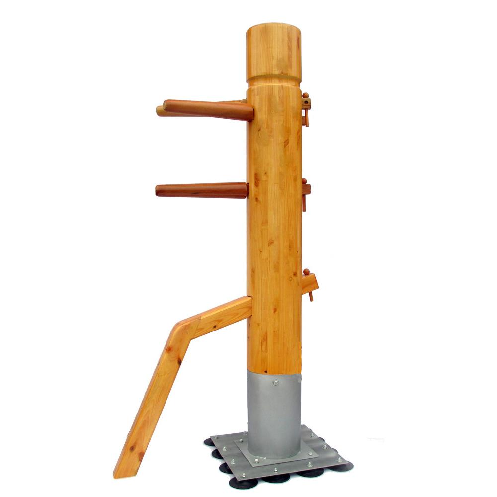 Chinois kung fu wing chun mannequin de bois dans Arts martiaux de