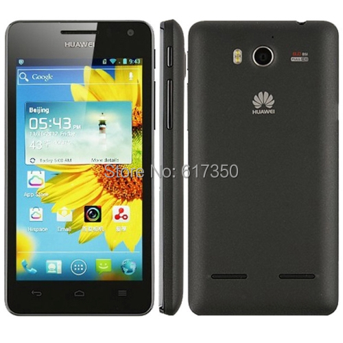 "Original Huawei U9508 Quad Core Smart Mobile Phone 4.5"" IPS Screen 2GB/8GB 8MP Camera android 4.0 multi-language Cell(China (Mainland))"