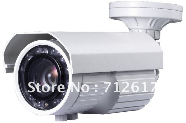 1/3'' SONY 420TVL,80m IR Distance,6-60mm Manual Lens IR Waterproof Camera