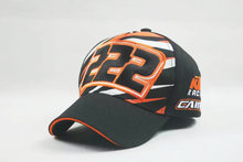 New black cotton adjustable kids children boy girl KTM motorcycle moto gp f1 sport baseball cap hat(China (Mainland))