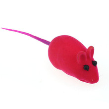 Newly Design Pet Cat Kitty Dog Playing Toy False Mouse Rat Squeak Noise Sound Toys Gift July15(China (Mainland))