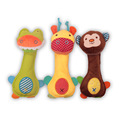 Lovely Baby kids BB bar call comfort Sounding Xams Gift Toys Rattles Bunny Sleeping Mate Stuffed