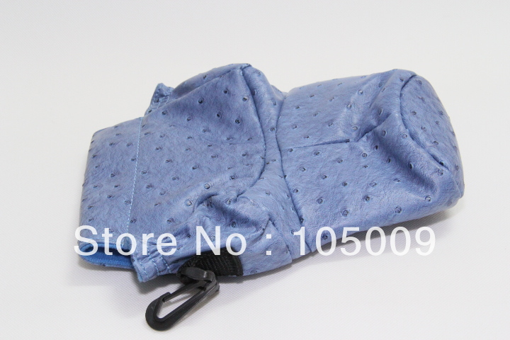 S size blue pigbag Camera Cover Case Bag Protector for canon 60d 550d nikon d80 d3000 dslr camera(China (Mainland))