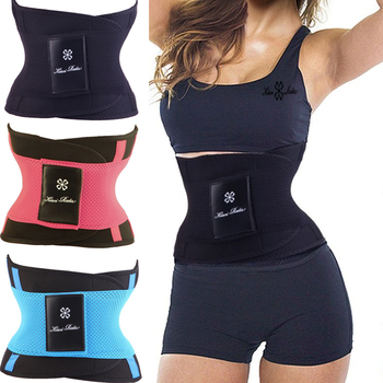 New women's waist trainer belt slimming Firm reduce weight shapewear corset staylace burning body hot shapers cincher bodysuit