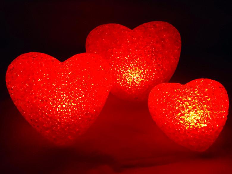 Small love led night light 1