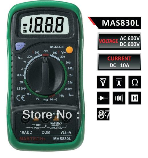 Mastech mas830b инструкция
