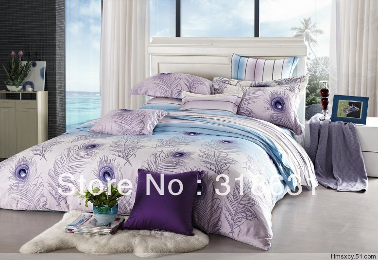 Peacock Comforter King Size: Peacock Print Bedding Promotion-Shop For Promotional
