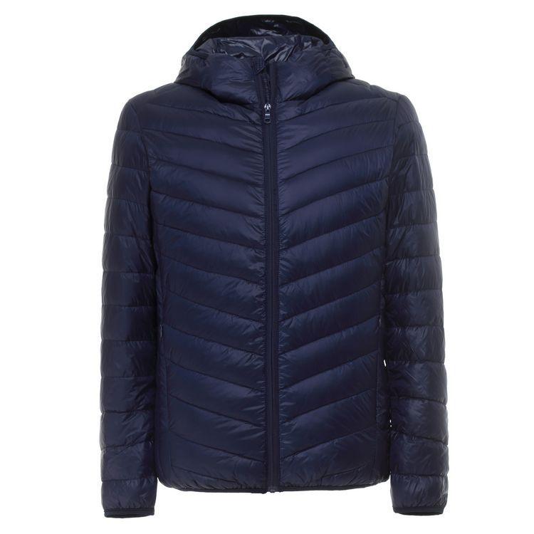 Ultra Light Down Jacket Hooded 90% White Duck Down Jacket Men Regular Length Portable Down Jacket Plus Size S-XXXL 9 Colors
