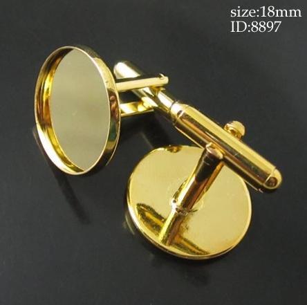 Здесь можно купить  Free hipping!!! Silver Plated Cabochon Setting Cuff Links 26x18mm(Fit 16mm)  Ювелирные изделия и часы