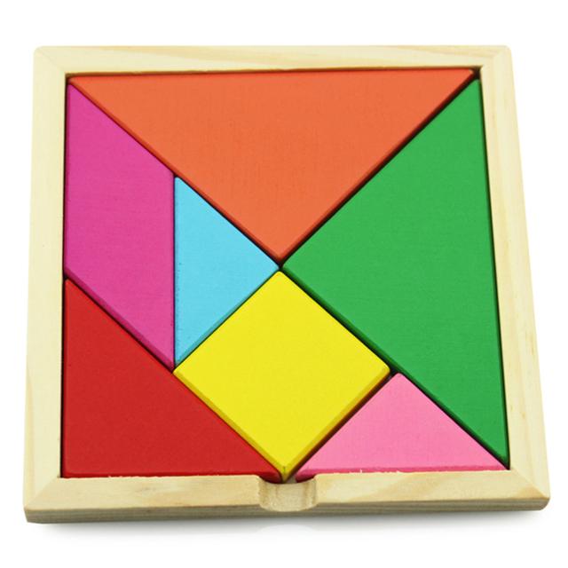 Головоломки деревянные головоломки развивающие игрушки познавательная цвет и форма детские игрушки WJ126