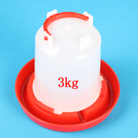 3 kg Chicken drinking fountain Rabbit Drinking Farm Tools Nipple Chicks water Free shipping