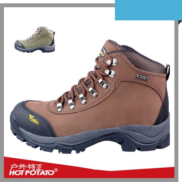 discount waterproof outdoor hiking winter genuine leather