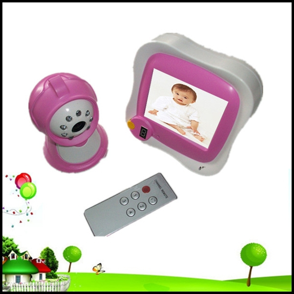 buy cheap home security baby monitors choose 2 4ghz wireless rechargeable baby monitor and. Black Bedroom Furniture Sets. Home Design Ideas