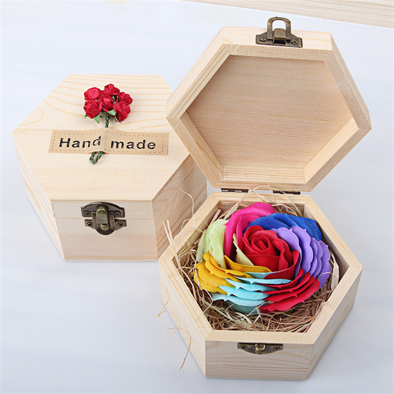 New Year For Wife/Girlfriend/Lovers Rose Flower Handcrafted Handmade Wedding Gift Valentine's Day Romantic Present WA148 T15 0.5(China (Mainland))