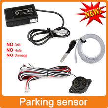 Easy Install Auto Electromagnetic Parking sensor,no drill no hole,Car Reverse Parking Radar  System(China (Mainland))