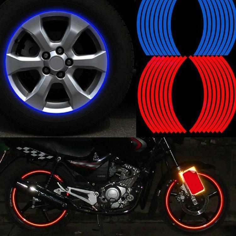 наклейки на колеса светоотражающие фото