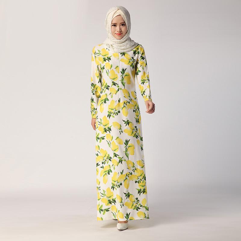 New Marocain Ribbons Real Clothing Muslim Women Long-sleeved Hit color Dress Models Female Arab Islam Abaya Dresses(China (Mainland))
