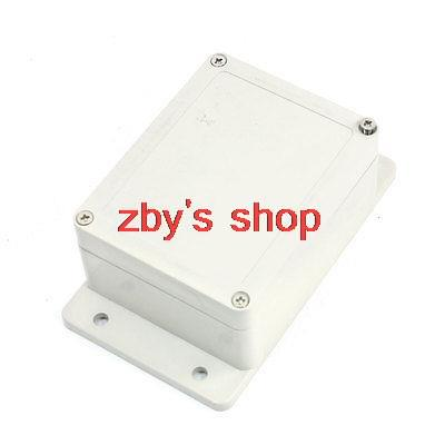 115mm x 90mm x 55mm Waterproof Plastic Case DIY Junction Box Joint Hinged Lid(China (Mainland))