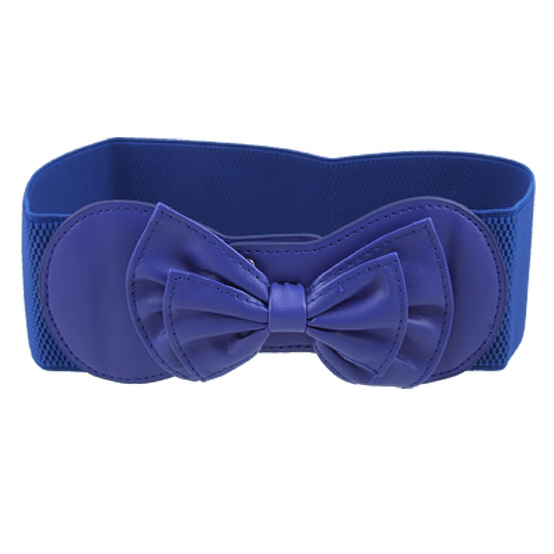 DSGS 10x(DSGS2016 Hot Style Hot Style Royal Blue Butterfly Knot Buckle Elastic Waist Belt for Ladies(China (Mainland))