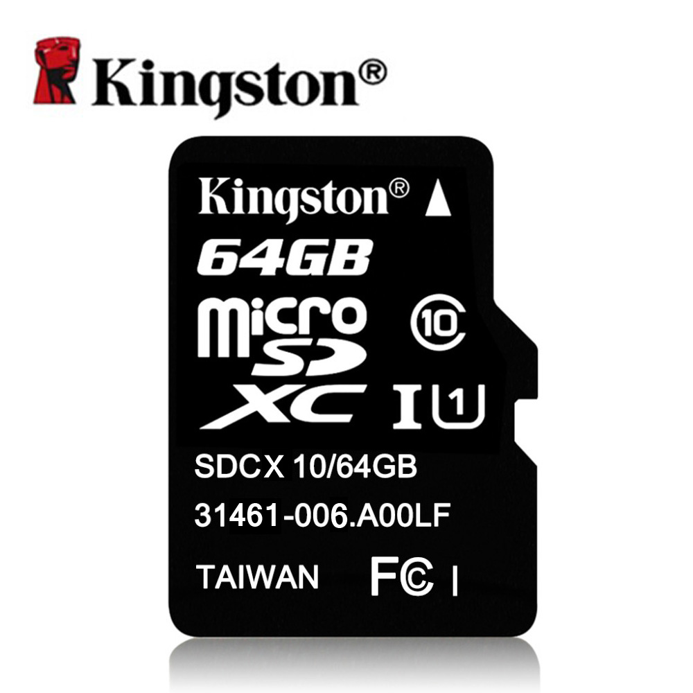 Kingston Micro SD Card 8GB 16GB 32GB 64GB Class 10 Microsd Memory 8 GB 16 32 64 Tarjeta TF - TMT store