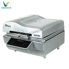 Hot sale 3D vacuum sublimation heat press machine ,heat transfer printing machine for T-shirt
