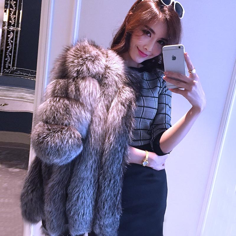 Popular Fox Real Fur Jacket-Buy Cheap Fox Real Fur Jacket lots