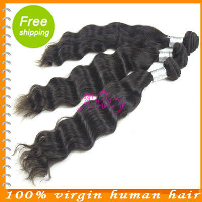 Cici hair products 100%  chinese remy natural wave hair original unprocessed hair 3 pcs lot