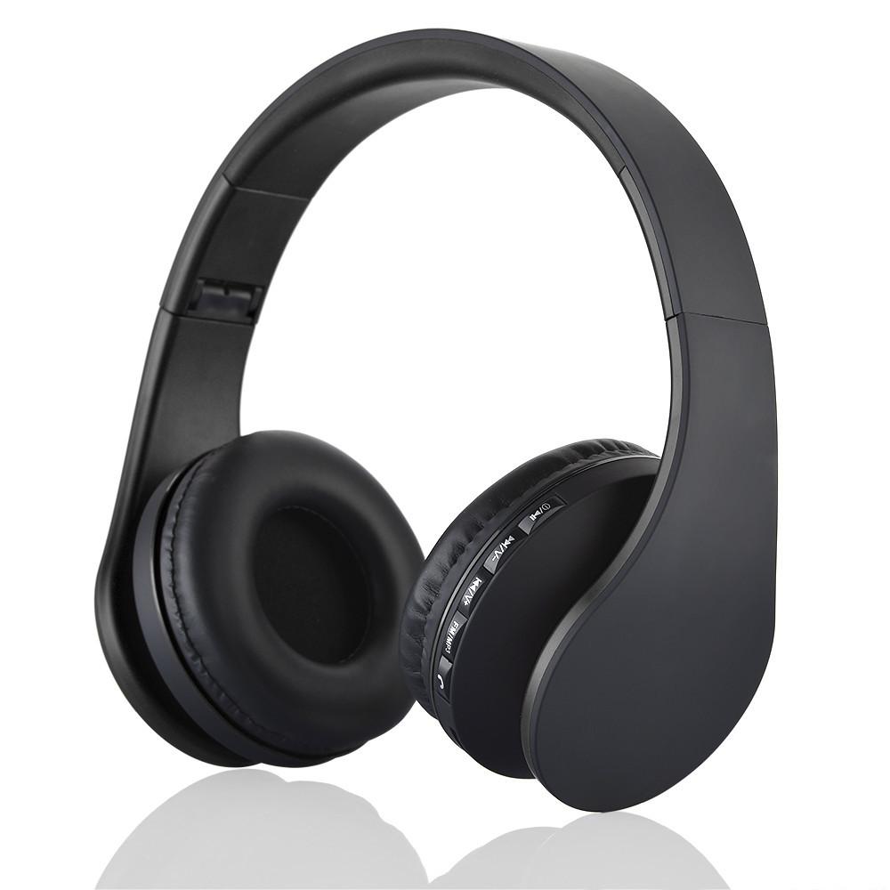 Digital 4 in 1 Multifunctional LH-811 Stereo Bluetooth 3.0 + EDR Headphones Wireless Headset Music Earphone with Micphone(China (Mainland))