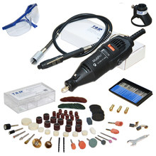 Free Shipping Dremel Variable Speed Rotary Tool Electric Tool Kit,Mini Drill, with 137pcs Accessories