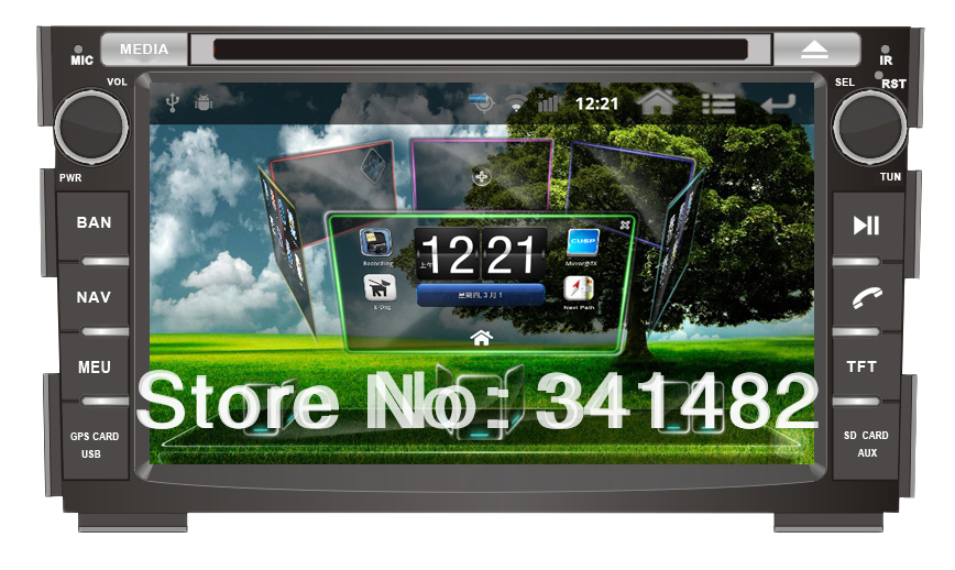 Android CAR DVD PLAYER WITH GPS FOR KIA CEED 2006-2012 Navigation Radio Bluetooth PIP TV Free Maps - Shenzhen TomTop E-commerce Technology Co., Ltd. store